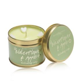 Elderflower & Apple  - tin candle