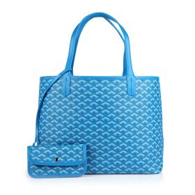 Poitiers Hand Bag With Pouch - Blue