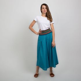 Boutique by 3AIN - Light Blue Stylish Wide cut Pants - Free Size