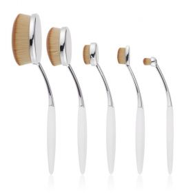 Contour Cosmetics -  Niko Pro Oval Brush Set- 5 Pcs