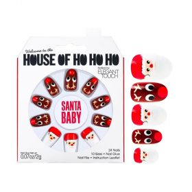 House Of Holland Nails Set - Santa Baby