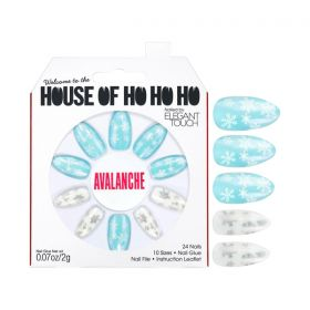 HOUSE OF HO! HO! HO! Nails Set - Avalanche