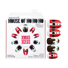 HOUSE OF HO! HO! HO! Nails Set - Xmas Xcess