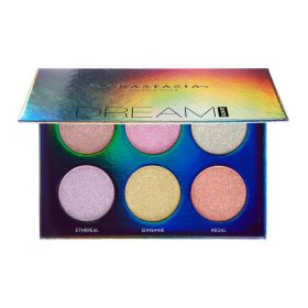 Anastasia - Dream Glow Kit Eye Shadow and Highlighter Palette - 6 Shades