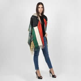Womens Scarf - Multi Coloured