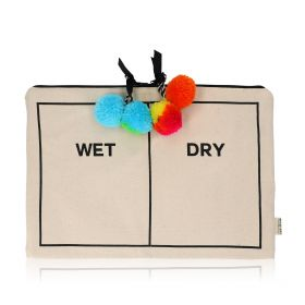 Wet/Dry Pouch - Black/White