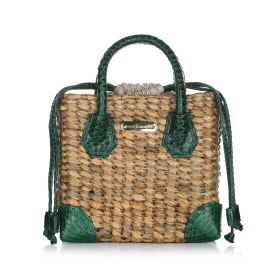 Maui Hand Bag - Dark green