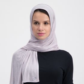Double Stretch Cotton Scarf - Light Peach