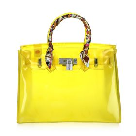 Jelly Summer Bag - Yellow