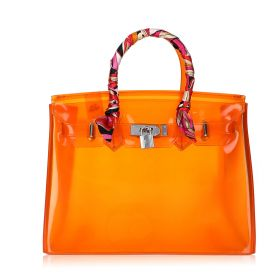 Jelly Summer Bag - Orange