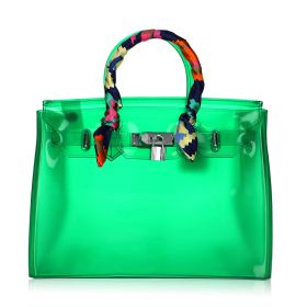 Jelly Summer Bag - Green