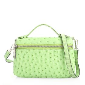 Just Croco Clutch Bag - Green