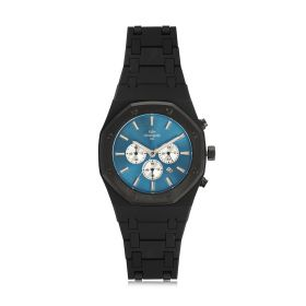 Ocean Chronograph Quartz Blue & Black Watch