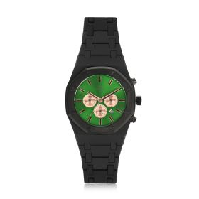 Envo Chronograph Quartz Green & Black Watch