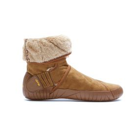 Furoshiki Classic Shearling Mid Boots - Camel Brown