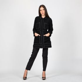 Black Crepe Jacket
