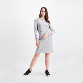 Three Quarter Dress - Grey
