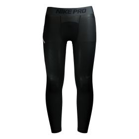 Pro 3/4 Basketball Tights - Black