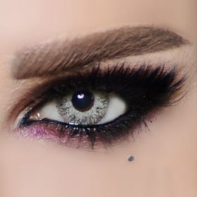 The Queen Color Contact Lenses - Gray Fashion