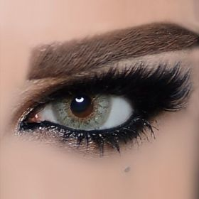 The Queen Color Contact Lenses - Gray Green Fashion