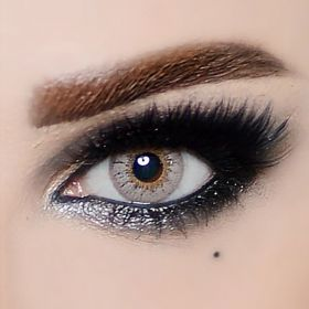 The Queen Color Contact Lenses -  Gray Hazel Fashion