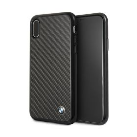 Real Carbon Fiber Case iPhone X / Max - Black