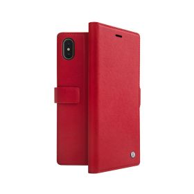 Hexe Folio Case For iPhone XS Max - Red
