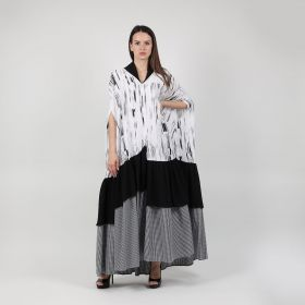 Kaftan - Black and White