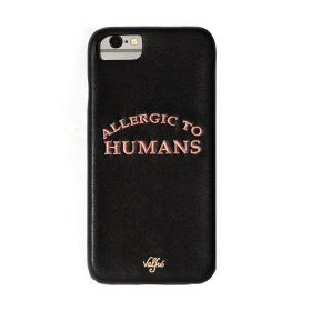 Valfre - Allergic to Humans iPhone Case (X)