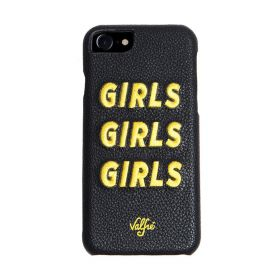 Valfre - Girls Girls Girls iPhone Case (Yellow) (X)