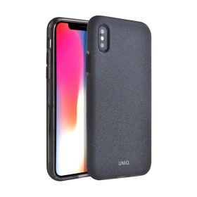 Hybrid Lithos Charcoal iPhone Case - XS Max