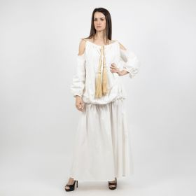 Kaftan With Sleeves - Off White