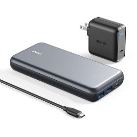 PowerCore+ 19000 PD USB-C Hub Charger - Silver
