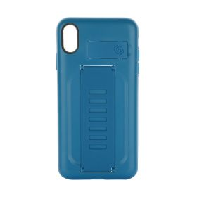 Boost Blue iPhone Case With Kickstand - XS Max