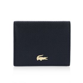 Chantaco Small Zip Card Holder - Navy