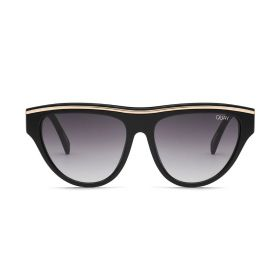 Flight Risk Shield Smoke & Black Sunglasses