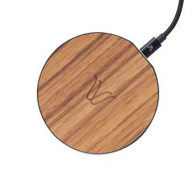 Solo Wireless Charger - Teak