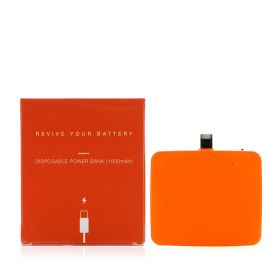 Disposable Power Bank - Orange