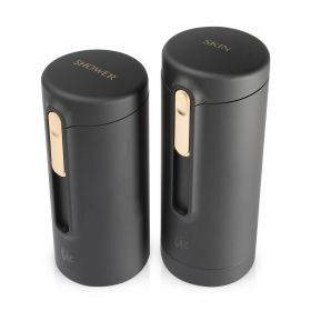 V2.0 Bottles Set - 2 pcs - Matte Black