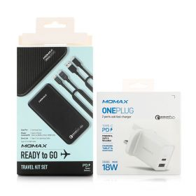 Ready To Go Fast Charging Travel Kit + 1 Free Charger