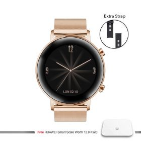 Smart Watch GT2 - Rose Gold + Free Smart Scale