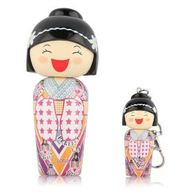 Kokeshi Mini Keyring 5ml Miniature + Eau De Toilette Lotus- 50ml Kids
