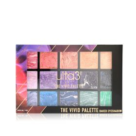 The Vivid Baked Eyeshadow Palette