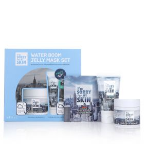 Water Boom Jelly Mask Set - 3 Pcs