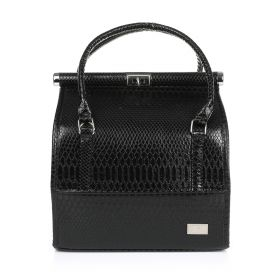 Python Make Up Bag - Black