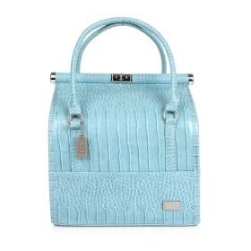 Crocodile Make Up Bag - Baby Blue