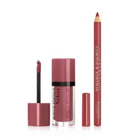 Rouge Edition Velvet Lip Kit - 2 Pcs