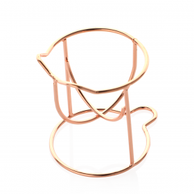 Cat Shaped Sponge Holder - Rose Gold