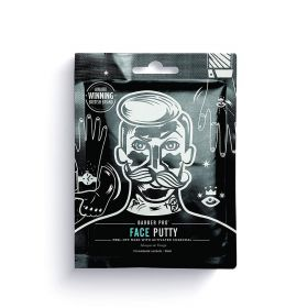 Face Putty Black Peel-Off Mask With Charcoal - 3X7gm