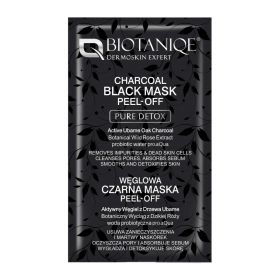 Pure Detox Charcoal Black Peel-Off Mask - 8ml